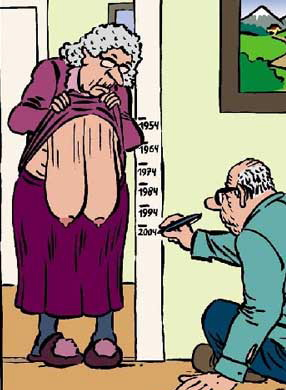 Saggy tits cartoon
