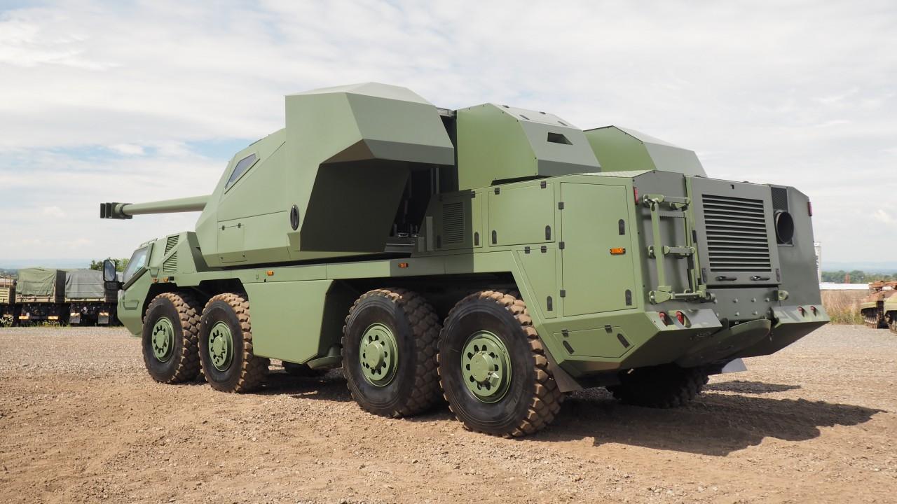 Excalibur Army оприлюднила характеристики САУ DITA