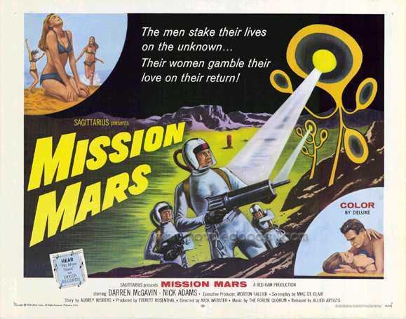 Rubbermonsterfetishism: Mission Mars (1968)