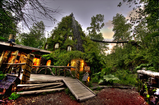 Authentic Experience Staying At Magic Mountain Hotel, Chile