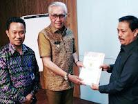 Serius Majukan Literasi, Wakil Bupati Bima Bertemu Kepala Perpusnas RI