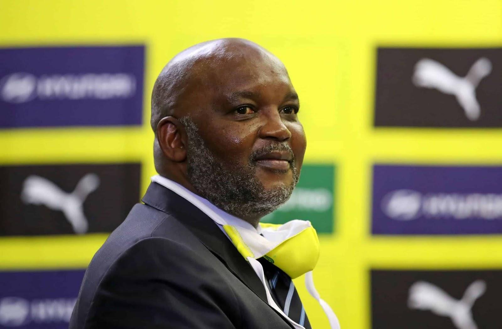 Mamelodi Sundowns manager Pitso Mosimane