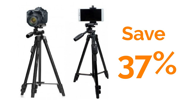 Tripod with Bluetooth remote control (VCT-5208) with public review
