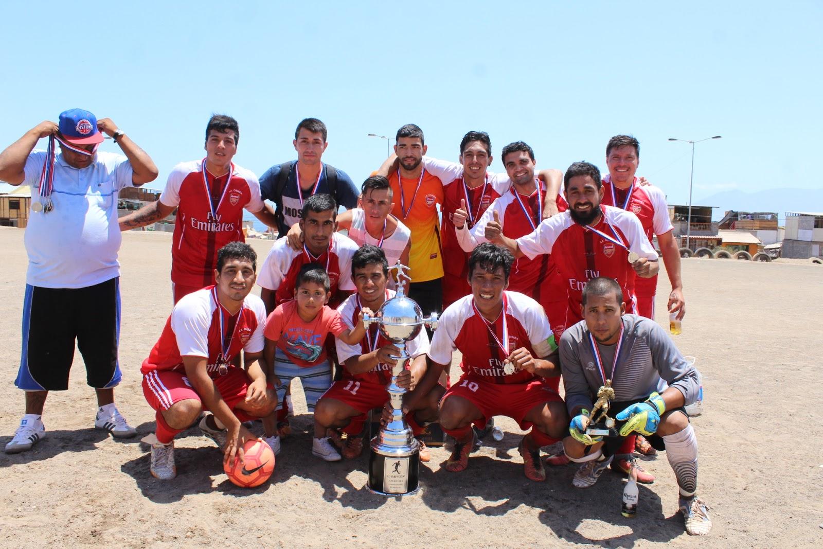 Liga de futbolito pedregal de antofagasta finales 2017 for Vivero antofagasta