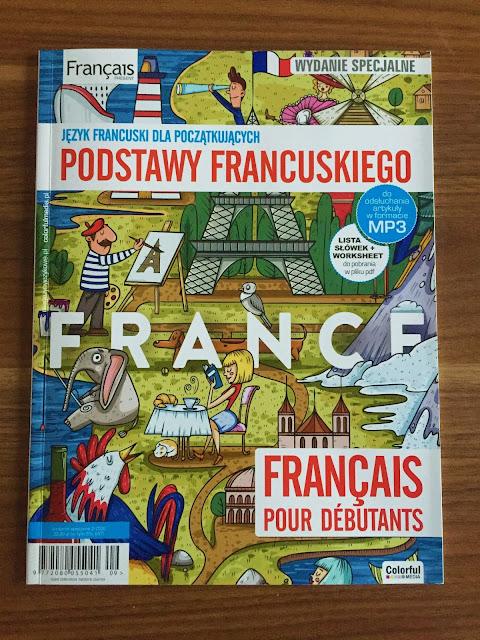 """""""Français Présent 2 Dla początkujących"""" - okładka wydania specjalnego - Francuski przy kawie"""