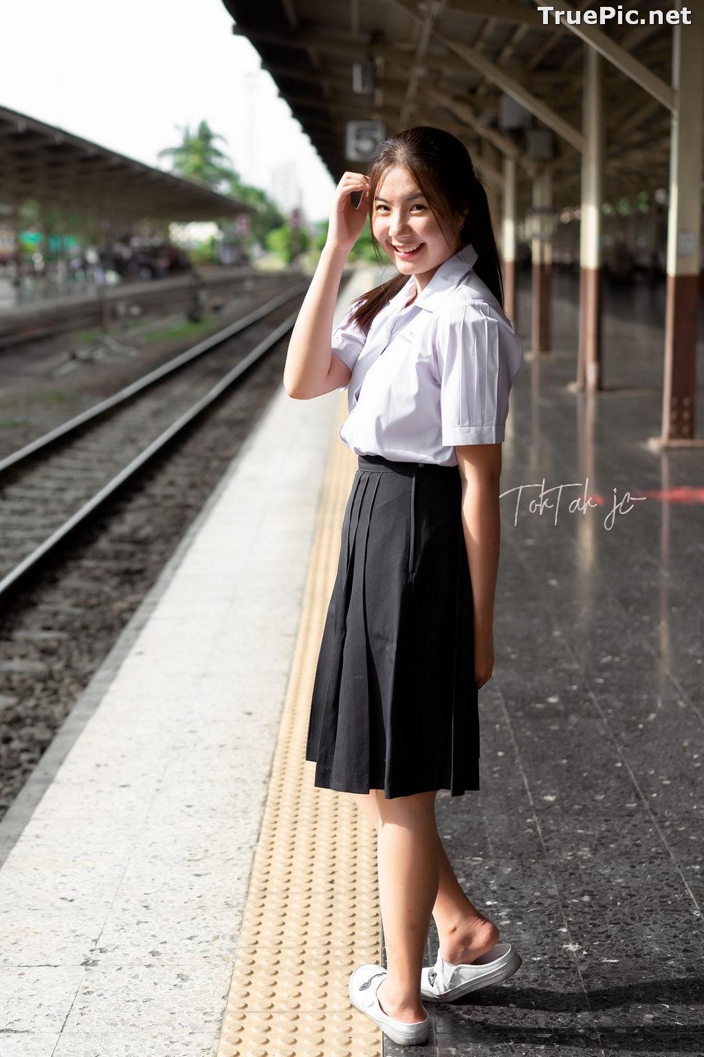 Image Thailand Model - Kornrawee Chokejindachai - Cute Student Girl - TruePic.net - Picture-7