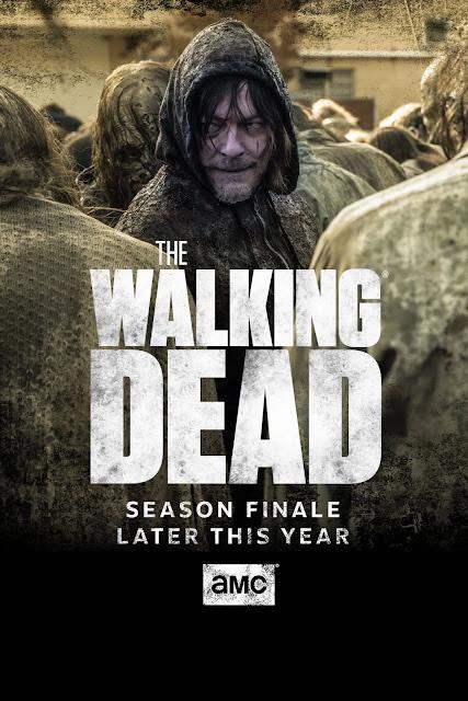 The Walking Dead10 : poster sul posticipo del finale di Stagione