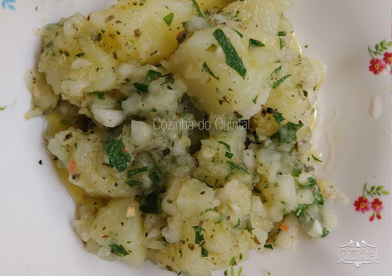 Salada de Batata Cozinha do Quintal