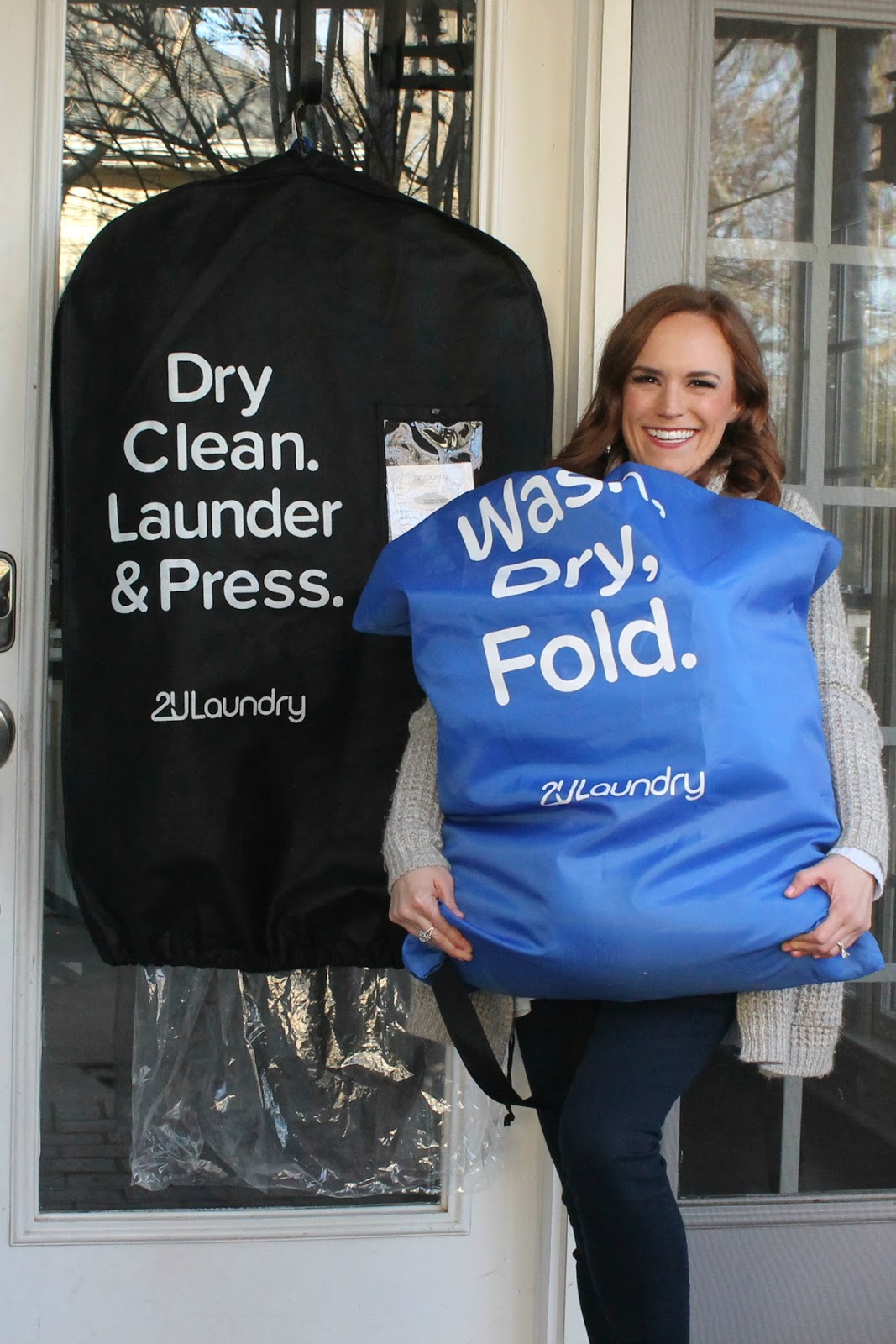 Conquering the Laundry Pile + Laundry Service Giveaway!