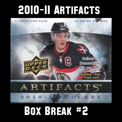 2010-11 Artifacts Box Break #2