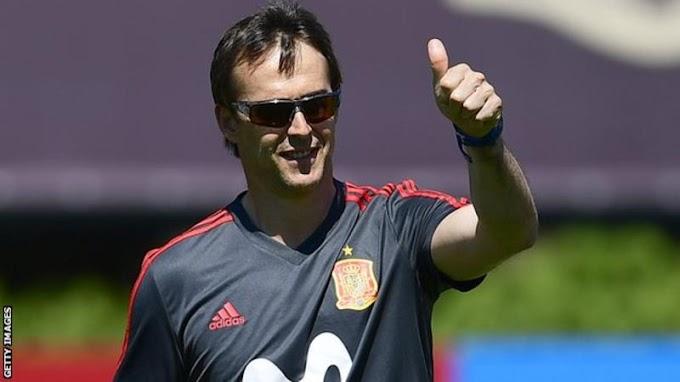 Real Madrid announce Spain national team coach Julen Lopetegui as next Manager