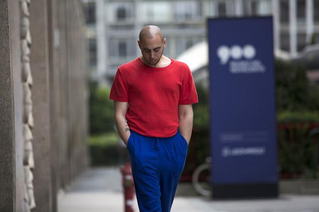 outfit uomo super colorato estivo