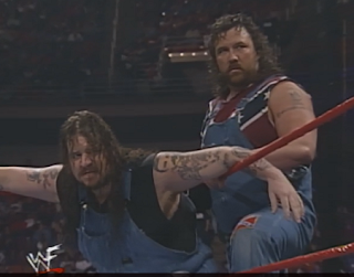 WWE / WWF In Your House 20: No Way Out of Texas - The Godwins beat The Quebecers in a horrible match