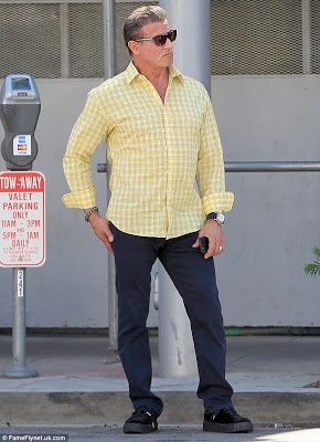 Hollywood star Sylvester Stallone 1