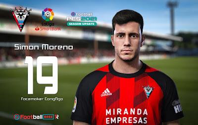 PES 2021 Faces Simón Moreno by CongNgo