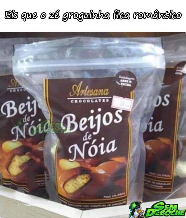 BEIJOS DE NÓIA