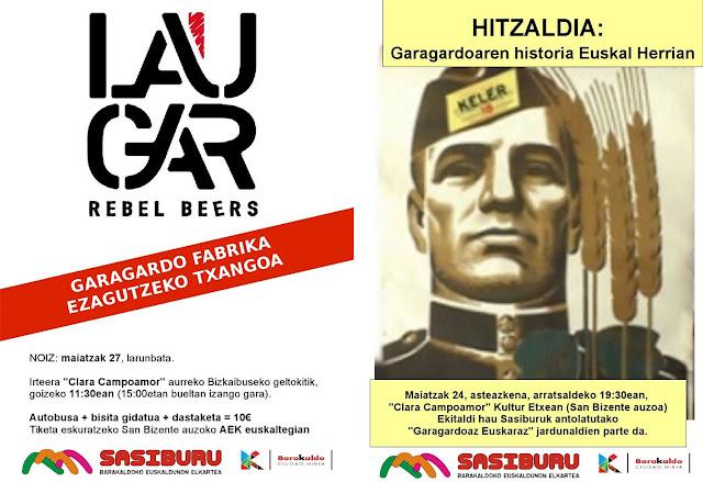 'garagordoaren historioa Euskal Herrian' hitzaldia