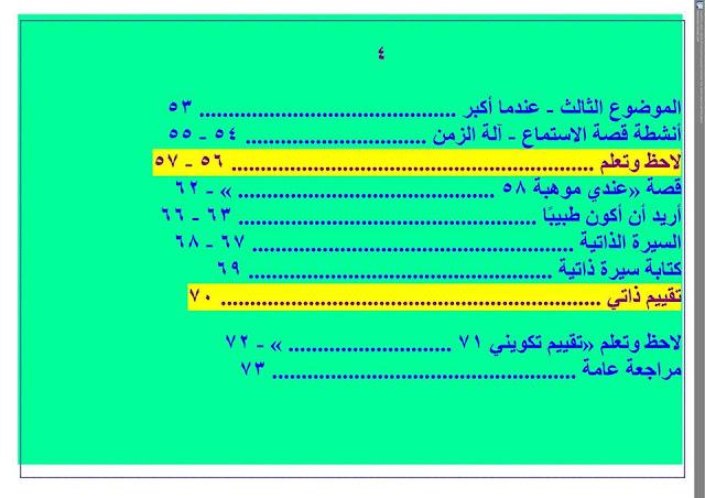 دفتر تحضير نافذة اللغة العربية للصف الثاني الإبتدائي أ/ رمضان فتحي 8