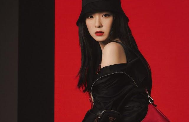 Irene (Red Velvet) & Chanyeol (EXO) Are The New Ambassadors For Prada