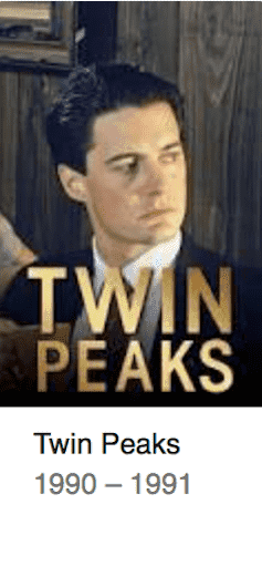 Best TV Shows Twin Peaks
