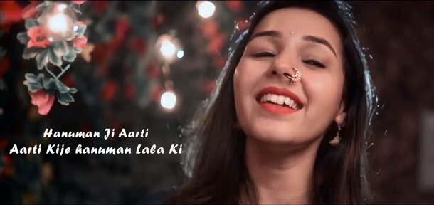 Maanya Arora Aarti Kije hanuman Lala Ki song lyrics