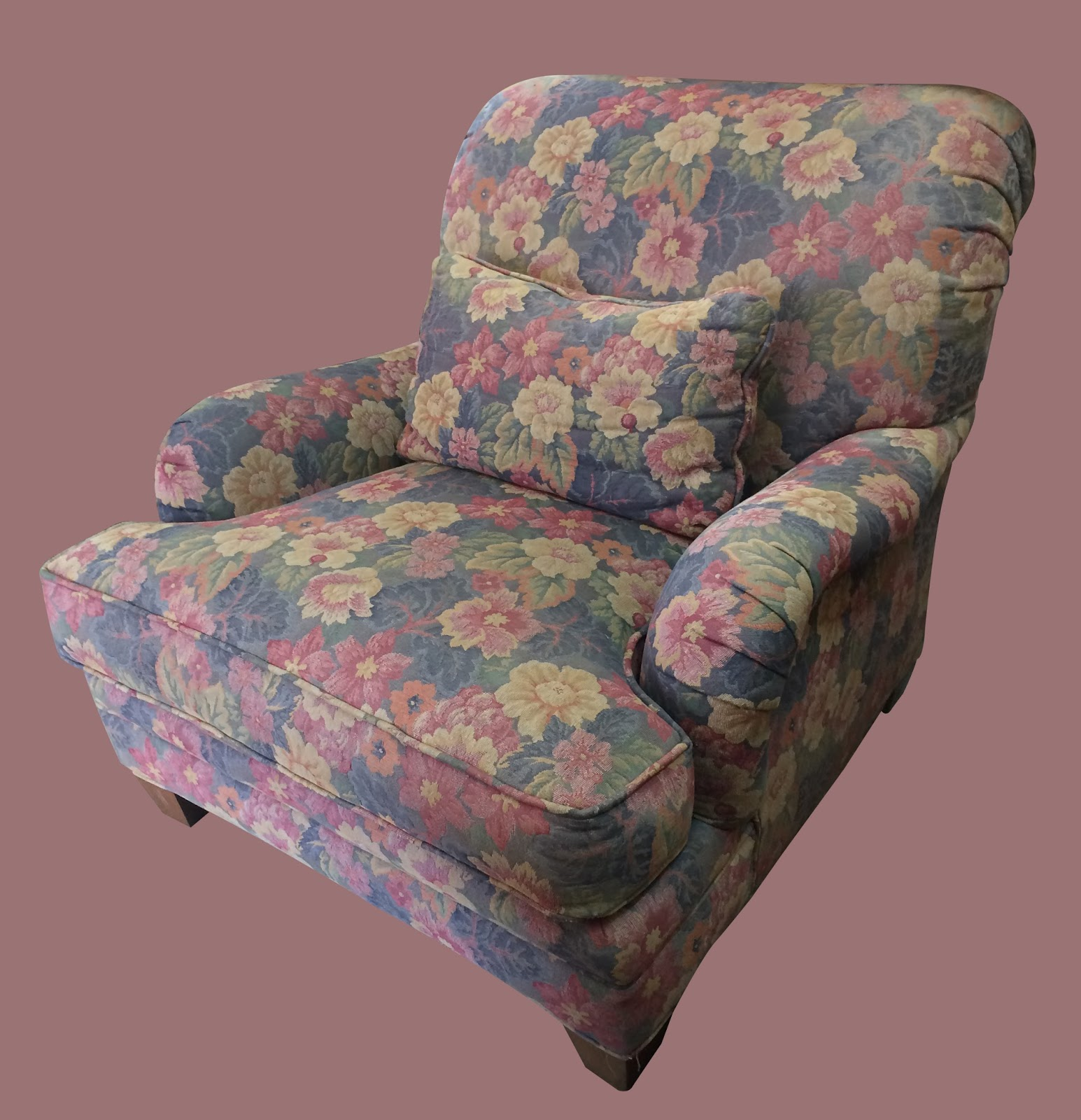 Floral Chair U0026 A Half   $85 $75 SOLD