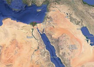 Hvilken kanal forbinder Rødehavet og middelhavet