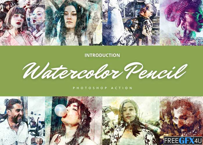Watercolor Pencil Effect