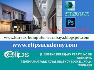 KURSUS 3DSMAX SURABAYA | KURSUS INTERIOR SURABAYA