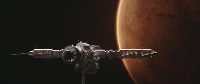 The Space Between Us Mars movie image - spaceship