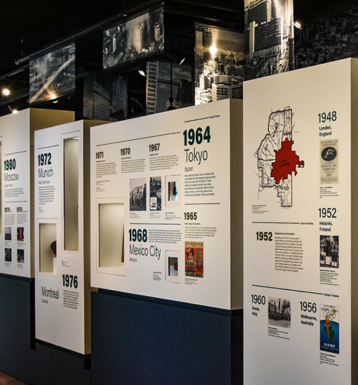 Timeline Entrance | Atlanta History Center | Photo: Travis Swann Taylor