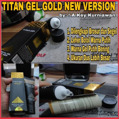 titan gel gold rusia original new version