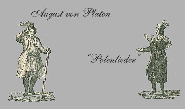 Männer in polnischer Kleidung-Polenlieder