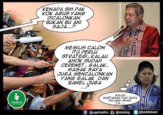 Kumpulan Meme yang Beredar Saat Anak SBY Dicalonkan Jadi Cagub DKI