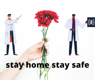 stay home stay safe- Covid 19