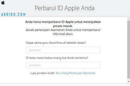 Jangan Buat Akun Apple ID Asal-asalan