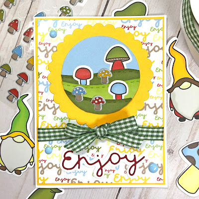 Lisa Mears Card Designs - The Stamps of Life April Card Kit - Card 9