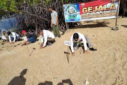 Kodim 1628/KSB Sukses Gelar Bhakti Sosial Tanam Mangrove