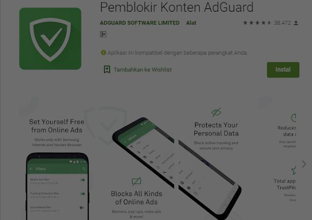 5 Aplikasi Blokir Iklan di HP Android 5