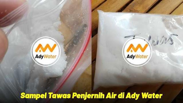 bubuk tawas ady water
