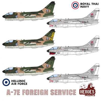 1/144 DECALS – A-7E in Foreign Service