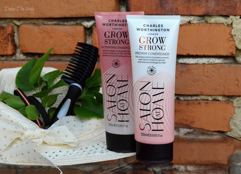 Charles Worthington Grow Strong - profesjonalna pielęgnacja włosów