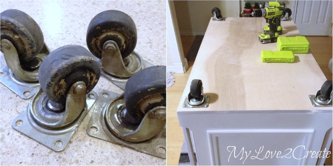 attaching casters