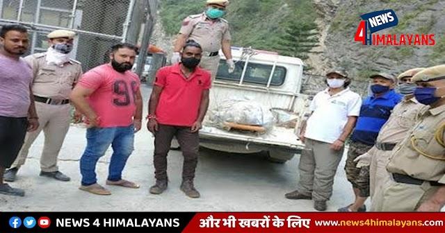 हिमाचल: बांध के सील्ट में फंसी थी बॉडी- लोगों की पड़ी नजर तो पुलिस ने रेस्क्यू कर कब्जे में लिया