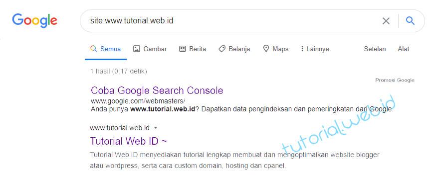 Cara Mendaftarkan Blog ke Google - Tutorial.web.id