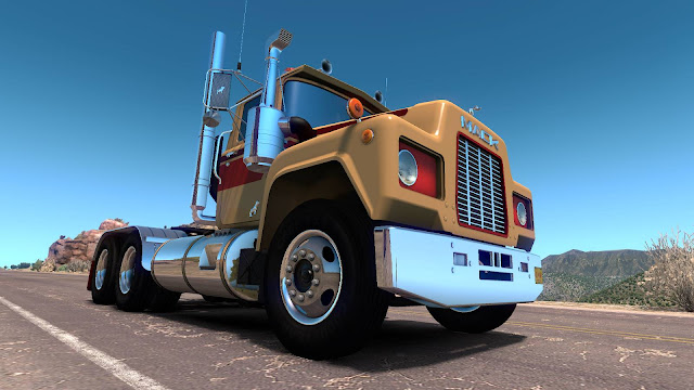 ats mack r series truck mod v1.35 screenshots 1