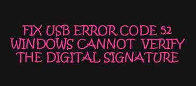 Fix: Error Code 52