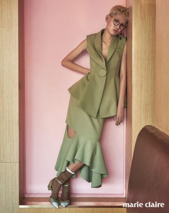 Resort 2016 Givenchy Mermaid Skirt Suit Editorials