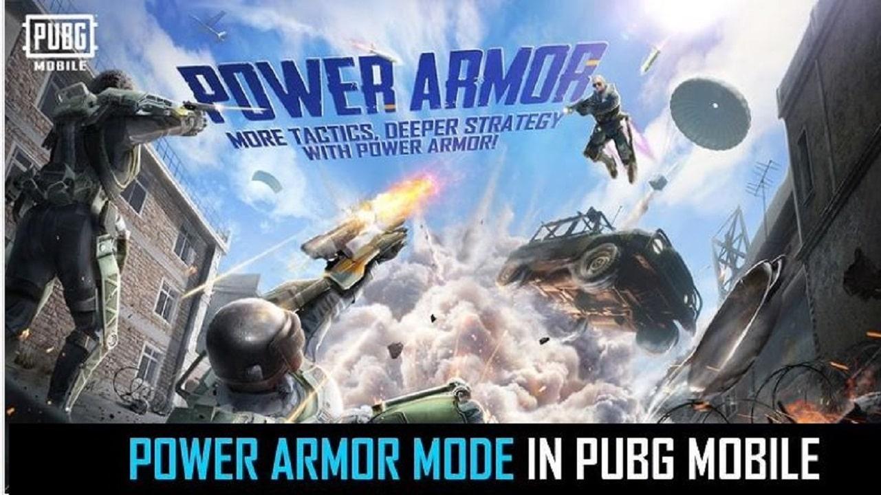 PUBG Mobile Power Armor Mode