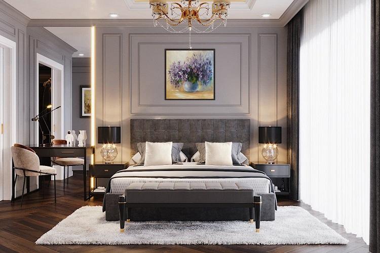 Hình ảnh căn hộ mẫu BRG Lê Văn Lương